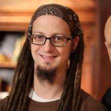 Shane Claiborne and Tony Campolo. Photo courtesy of the authors.
