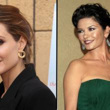 Angelina Jolie / Catherine Zeta-Jones, Shutterstock.com