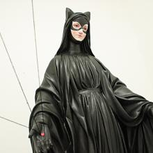 The Madonna as Catwoman by Igor Scalisi Palminteri via Facebook.