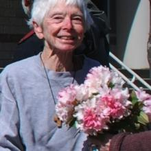 Sister Anne Montgomery, photo courtesy Kathy Kelly