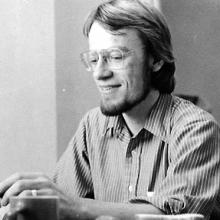 Bob Sabath at Sojourners, 1976