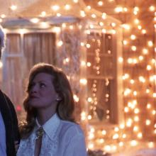 "Clark and Ellen Griswold of ""National Lampoon's Christmas Vacation."""