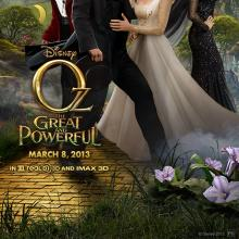 Oz movie poster, Courtesy Disney