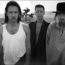 U2 album photo from The Joshua Tree by Anton Corbijn
