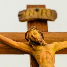 Jesus on the cross Photo: Lasalus/Shutterstock