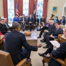 Photo courtesy La Casa Blanca Twitter feed