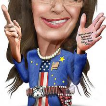 """Sarah Palin, Public Speaker."" By DonkeyHotey via Wylio (http://bit.ly/vkaaOW)"