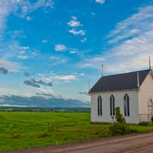 Church building photo, Kevin Eng / Shutterstock.com