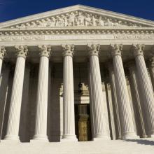 Supreme Court image, Mesut Dogan / Shutterstock.com