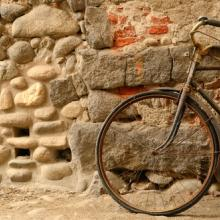 An old bicycle. Image courtesy MaPaSa/shutterstock.com.