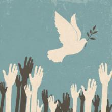 Peace image, pashabo / Shutterstock.com