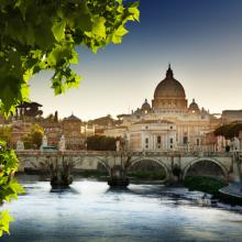 View of St. Peter's Basilica, Iakov Kalinin/ Shutterstock.com