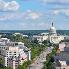 Aerial view of Pennsylvania Avenue, Orhan Cam / Shutterstock.com