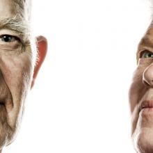 Elderly couple portrait, Nejron Photo / Shutterstock.com