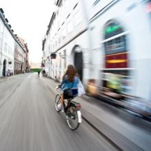 Girl riding a bike, Michal Durinik / Shutterstock.com