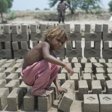 A child laborer. Image via gary yim/shutterstock.com