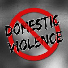 Stop domestic violence poster, Lurin / Shutterstock.com