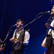 Mumford and Sons in New York on Feb. 6., Marc D Birnbach / Shutterstock.com