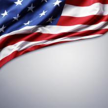 American flag. Image courtesy STILLFX/shutterstock.com