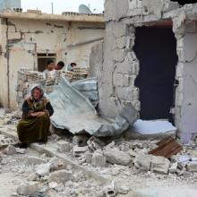 View of war damage in Syria, fpolat69 / Shutterstock.com