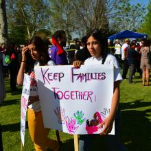 Immigration rally in Bakersfield, Calif., Richard Thornton / Shutterstock.com