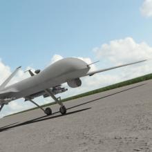 Military drone, F.Schmidt / Shutterstock.com