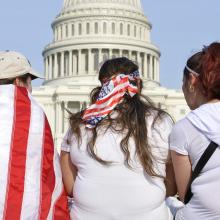 Immigration rally in Washington, D.C., in April 2013. Chad Zuber / Shutterstock.