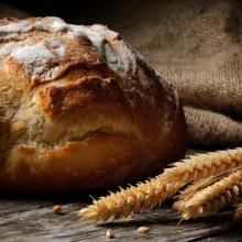 Fresh homemade bread. Image courtesy Symbiot/shutterstock.com.