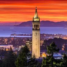 UC Berkeley Sather Tower. Image via Chao Kusollerschariya/shutterstock.com