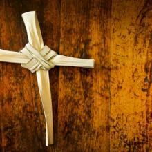 Palms fashioned into a cross, Ricardo Reitmeyer / Shutterstock.com