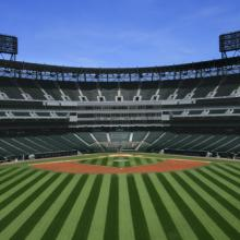 Baseball stadium photo, Margie Hurwich / Shutterstock.com