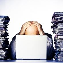 Overwhelmed man image, Rene Jansa / Shutterstock.com