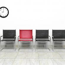 Chairs in a waiting room. Image courtesy Gts/shutterstock.com