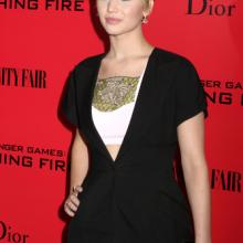 Jennifer Lawrence was one of many celebrities whose private photos were hacked.