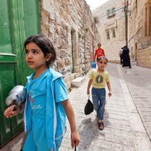 Palestinian children, Dona_Bozzi / Shutterstock.com