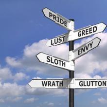 Seven deadly sins, © RTimages / Shutterstock.com