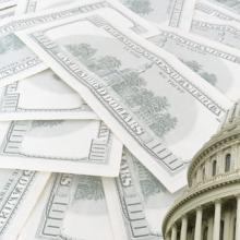 Money in politics illustration, Elena Yakusheva / Shutterstock.com