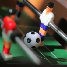 Foosball table, OMcom / Shutterstock.com