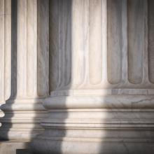 Pillars of the Supreme Court, Brandon Bourdages / Shutterstock.com
