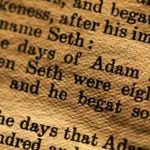 Book of Genesis, Janaka Dharmasena / Shutterstock.com