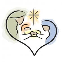 Photo: Holy family, © Jennifer Johnson, BlueCherry Graphics / Shutterstock.com