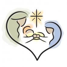 Photo: Holy family, © Jennifer Johnson, BlueCherry Graphics / Shutterstock.com