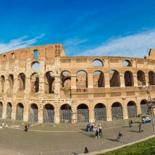 The Roman Colosseum, S-F / Shutterstock.com