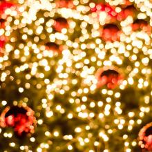 Blurred Christmas scene, Meaw story / Shutterstock.com