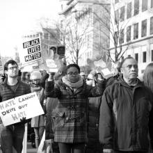 Black Lives Matter protest in Washington, D.C.