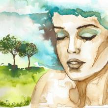 Mother Earth illustration, bruniewska / Shutterstock.com