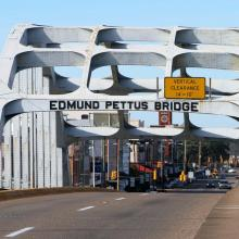 Edmund Pettus Bridge in Selma, Ala.