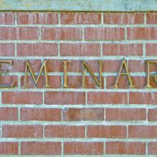 Seminary sign, Vladislav Gurfinkel / Shutterstock.com