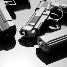 Handgun image, Nomad_Soul / Shutterstock.com