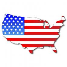 Flag Map image via Shutterstock
